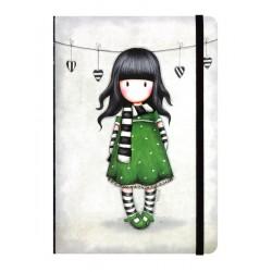 Hardcover Notebook Gorjuss 230EC45  ΓΡΑΦΙΚΗ ΥΛΗ / ΣΧΟΛΙΚΑ alfavitari.com